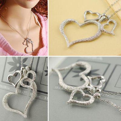Collar trio de corazones 0.75 € (incluidos gastos de envío) ACTUALIZADO