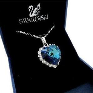 Corazón del mar de Titanic en cristal de swarovski 1.10 € (gastos de envío incluidos) ACTUALIZADO
