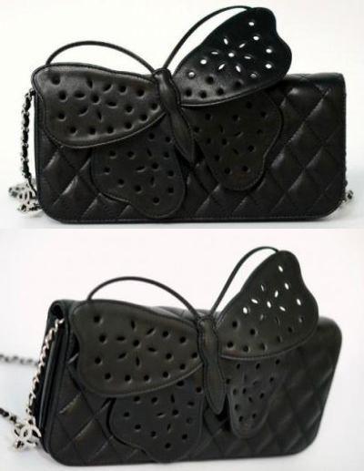 Bolso clutch mariposa Chanel 5.76 € (gtos de envío incluidos) en lugar de 150 €