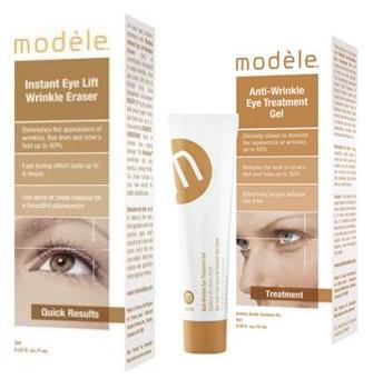 Modéle contorno de ojos anti-arrugas y efecto lifting inmediato 5.12 € (gtos de envío inlcuidos) en lugar de 32 € AGOTADO