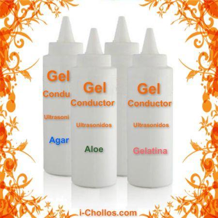 Recetas Gel conductor de ultrasonidos (3 recetas)
