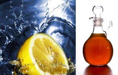 limon vinagre pelo