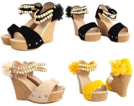 Sandalias cuña-plataforma, primavera-verano 2013 Fashion week 12.50 €