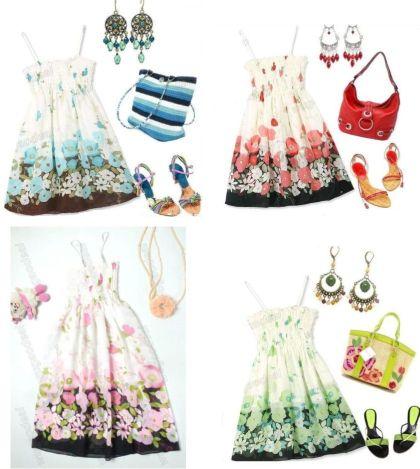 Vestido top Floral 4 € (Gtos de envío incluidos)