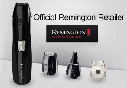 Remington original todo en uno (Afeitar, Perfilar, Barba de tres días, Nariz, Orejas) 16 € (Gtos de envío incluidos) en lugar de 60 euros