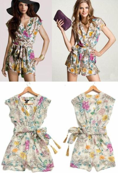 Mono Jumpsuit floral H&M 9.80 € (Gtos. de envío incluidos)