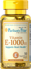 Vitamina E perlas de 1000 iu Puritans 13.5 € (Gtos de envío incluidos)