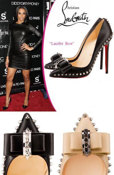 Zapatos Christian Louboutin Lucifer Bow 13.65 € (Gtos. de envío incluidos) en lugar de 180 €