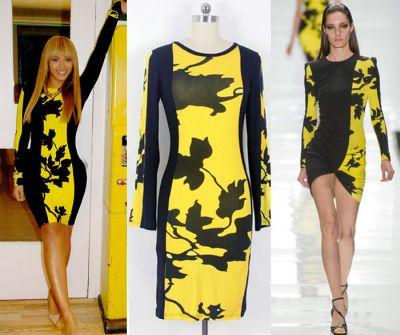 Vestido Leonard Paris-Beyoncé 9.55 € (Gtos. de envío incluidos) en lugar de 600 €