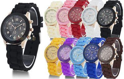 Reloj Geneva Jelly silicona. Unisex 1.51 € (Gtos de envío incluidos) ACTUALIZADO