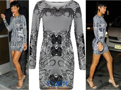 Vestido-Bodycon Rihanna 15.36 € (Gtos. de envío incluidos) en lugar de 172 €