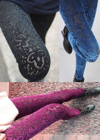 Leggings Baroque Push up relieve-strass  5.85 € (Gtos de envío incluidos) en lugar de 23 €