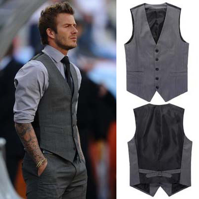 Chaleco David Beckham 7.96 € (Gtos. de envío incluidos) en lugar de 127 €