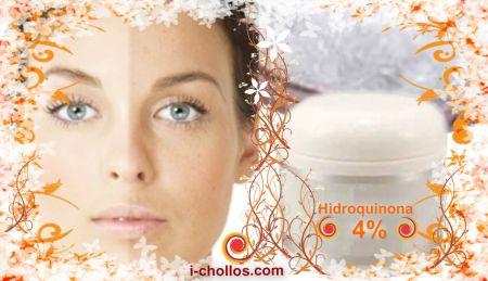 Receta crema super despigmentante de hidroquinona al 2% y al 4%