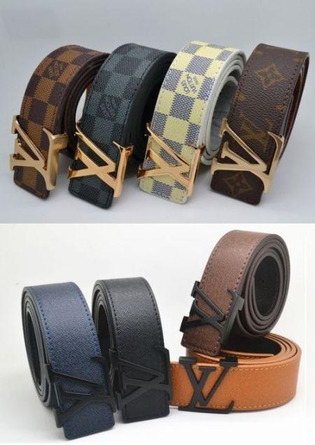 Cinturón unisex Louis Vuitton 100% piel 12.33 € (Gtos. de envío incluidos) en lugar de 470 €
