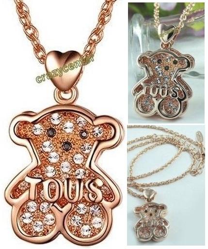 Collar Tous Oro 18k chapado y cristales australianos 5.33 € (Gtos. de envío incluidos) en lugar de 280 €