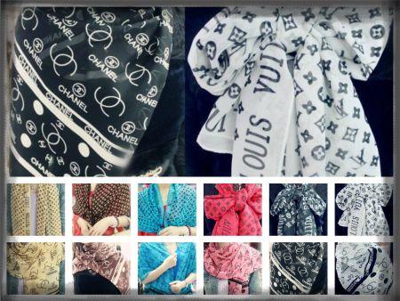 Fular Louis Vuitton y Chanel 3.55 € (Gtos de envío incluidos) en lugar de 215 €