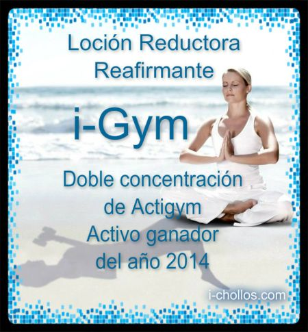 Receta i-Gym Super Reductor-Reafirmante  (Actigym 10%)
