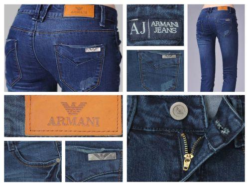 Vaquero Armani por 20.35 € (Envío Gratis) logotipo interno-externo, en botones…etc