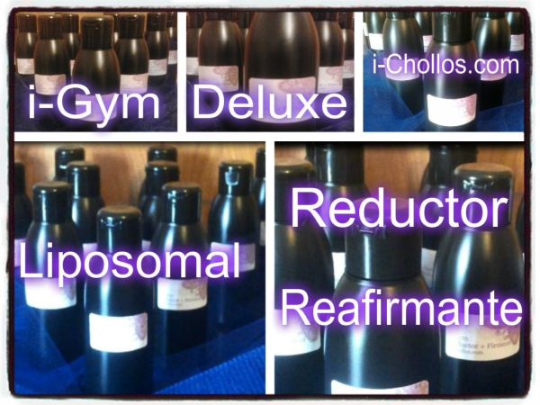i-GYM SUPER DELUXE LIPOSOMAL (serum Reductor-Reafirmante) AGOTADO
