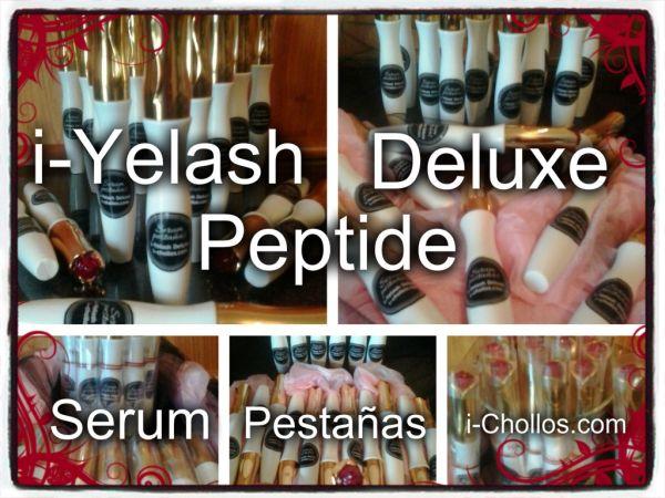 i-YELASH DELUXE PEPTIDE LIPOSOMAL. Serum pestañas, resultados rápidos. AGOTADO