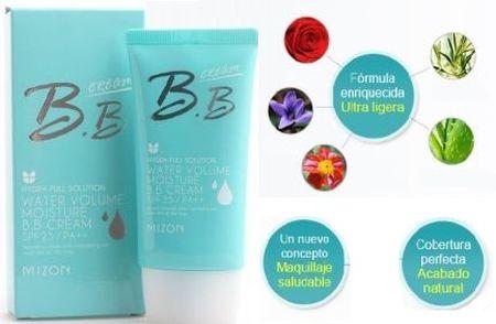 BB Cream Water Volume Mizon, la nueva favorita. 50 ml por sólo 7.10 € (Gtos de envío incluidos) ACTUALIZADO