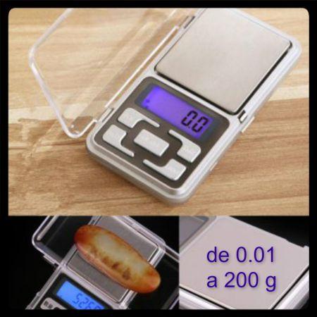BÁSCULA DIGITAL DE 0.01-200 gr. 3.23 € (Gtos. de envío incluidos) ACTUALIZADO
