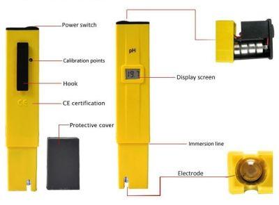 peachimetro digital lcd