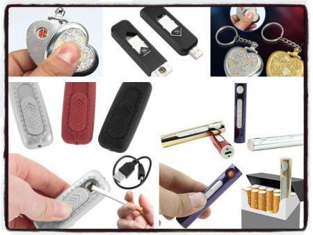 Mechero electrónico USB recargable 1.34 € (Gastos de envío incluidos)