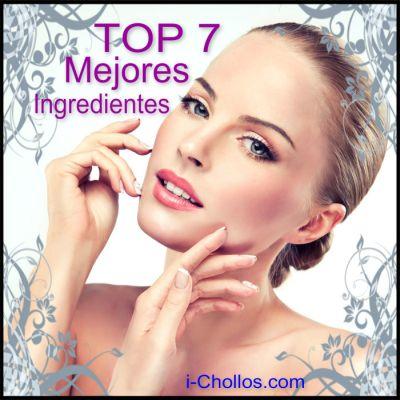 TOP 7 MEJORES INGREDIENTES PARA LA PIEL