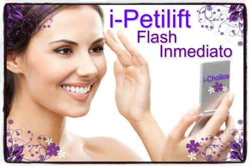 Receta i-PETILIFT, fórmula mejorada del Pepha-Tight (efecto rejuvenecedor-reafirmante-flash inmediato)