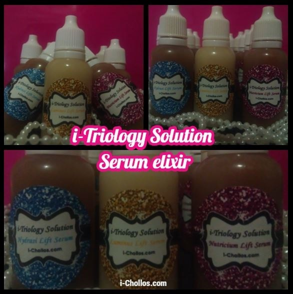 i-TRIOLOGY SOLUTION Serum-Elixir. Triología de Serums concentrados.